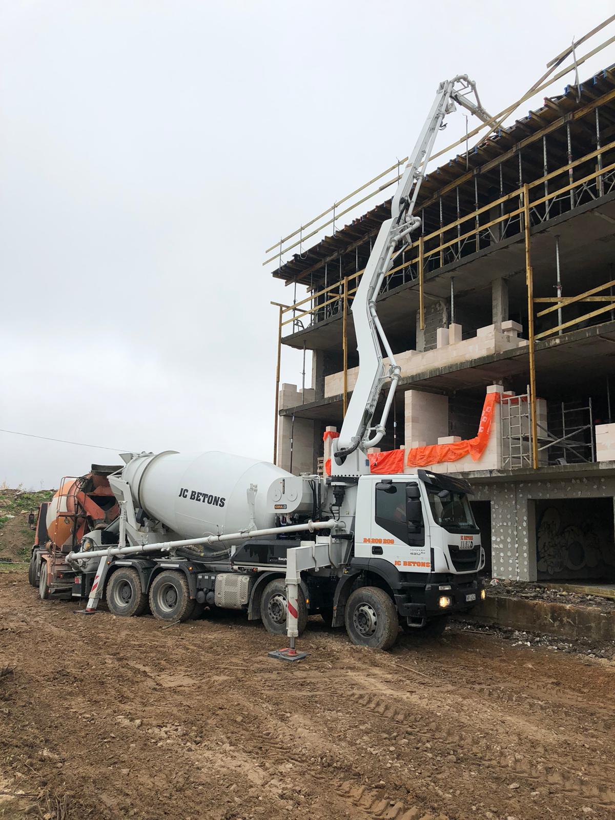 бетон транспортный